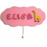 Boîte à musique nuage girafe