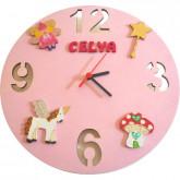 Horloge pour enfant «Fée»