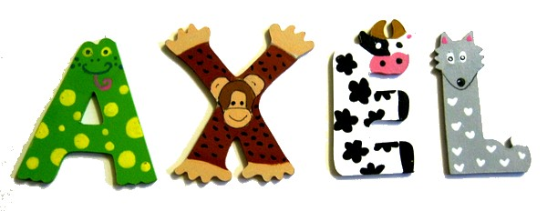 lettre x en bois animaux lettre bois. Black Bedroom Furniture Sets. Home Design Ideas