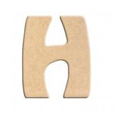 Lettre en bois à peindre H