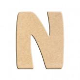 Lettre en bois à peindre N