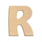 Lettre en bois à peindre R