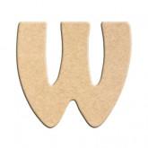 Lettre en bois à peindre W