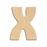 Lettre en bois à peindre X
