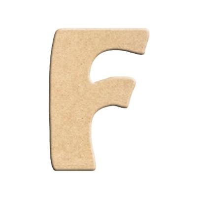 lettre f peindre d corer lettre en bois brut lettre. Black Bedroom Furniture Sets. Home Design Ideas