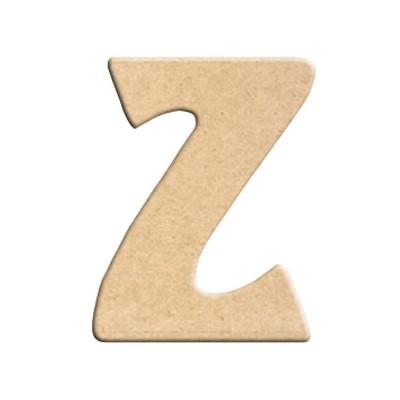 lettre z peindre d corer lettre en bois brut lettre bois. Black Bedroom Furniture Sets. Home Design Ideas