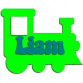 Plaque de porte locomotive