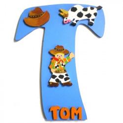 Plaque de porte Cowboy
