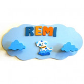 Portemanteau nuage chien