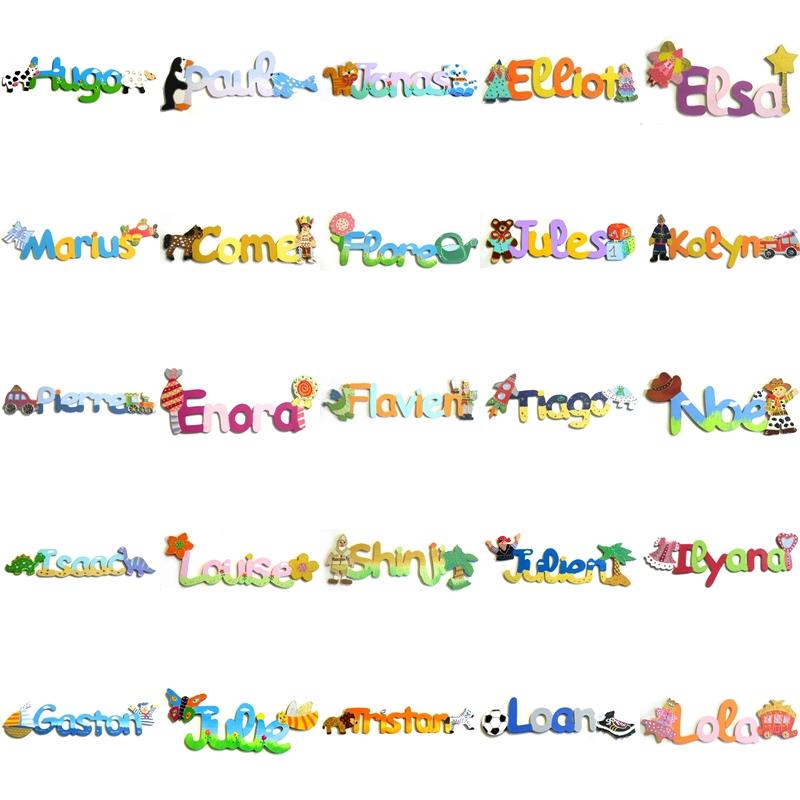 Pr nom en bois personnalis lettre bois - Lettre prenom bois ...