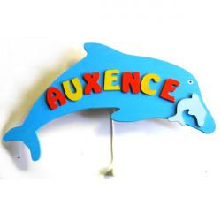 Boîte à musique murale dauphin