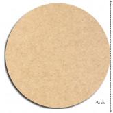 Plaque de porte ronde à peindre
