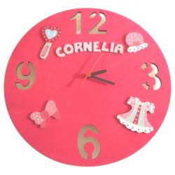 Horloge pour enfant «Fille»