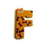 Lettre F animaux rigolos