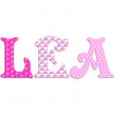 Lettre décorative ambiance princesse
