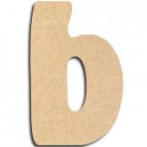 Lettre en bois à peindre «b» minuscule
