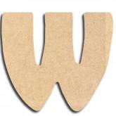 Lettre en bois à peindre «w» minuscule (copie)
