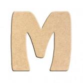 Lettre en bois à peindre M