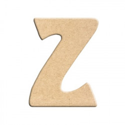 lettre z peindre d corer lettre en bois brut lettre. Black Bedroom Furniture Sets. Home Design Ideas