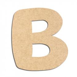 Lettre en bois à décorer B- Alphabet Auto Toy
