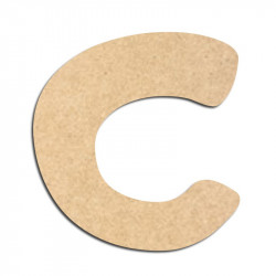 Lettre en bois à décorer C- Alphabet Auto Toy