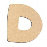 Lettre en bois à décorer D- Alphabet Auto Toy