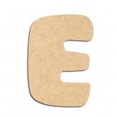 Lettre en bois à décorer E- Alphabet Auto Toy