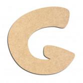 Lettre en bois à décorer G - Alphabet Auto Toy