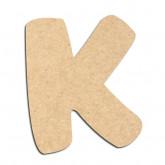 Lettre en bois à décorer K- Alphabet Auto Toy