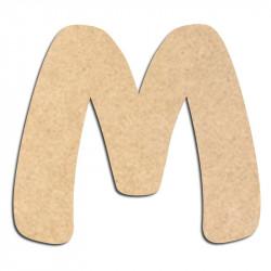 Lettre en bois à décorer M- Alphabet Auto Toy