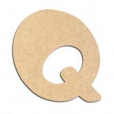 Lettre en bois à décorer Q - Alphabet Auto Toy