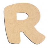 Lettre en bois à décorer R- Alphabet Auto Toy
