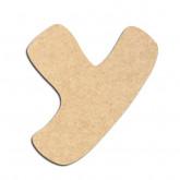 Lettre en bois à décorer Y - Alphabet Auto Toy