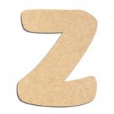 Lettre en bois à décorer Z - Alphabet Auto Toy