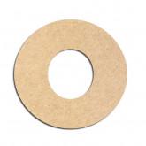 Lettre en bois à décorer O - Alphabet Bubble