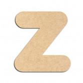 Lettre en bois à décorer Z - Alphabet Bubble