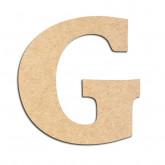Lettre en bois à décorer G - Alphabet Détente