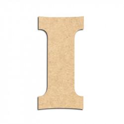 Lettre en bois à décorer I - Alphabet Détente