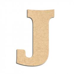 Lettre en bois à décorer J - Alphabet Détente