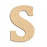 Lettre en bois à décorer S - Alphabet Détente