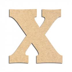 Lettre en bois à décorer X - Alphabet Détente