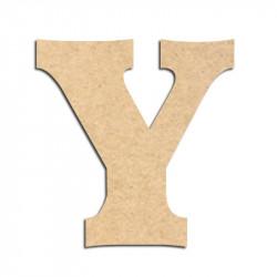 Lettre en bois à décorer Y - Alphabet Détente