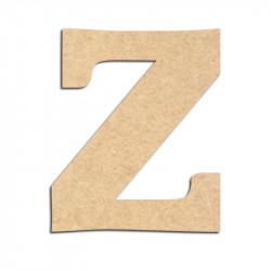 Lettre en bois à décorer Z - Alphabet Détente