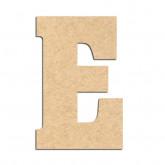 Lettre en bois à décorer E- Alphabet Hansen