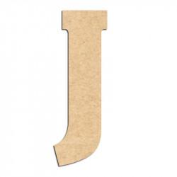 Lettre en bois à décorer J- Alphabet Hansen