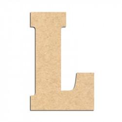 Lettre en bois à décorer L- Alphabet Hansen