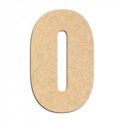 Lettre en bois à décorer O- Alphabet Hansen