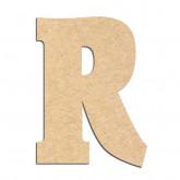 Lettre en bois à décorer R- Alphabet Hansen