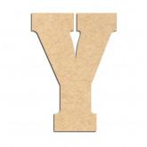 Lettre en bois à décorer Y- Alphabet Hansen