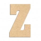 Lettre en bois à décorer Z- Alphabet Hansen